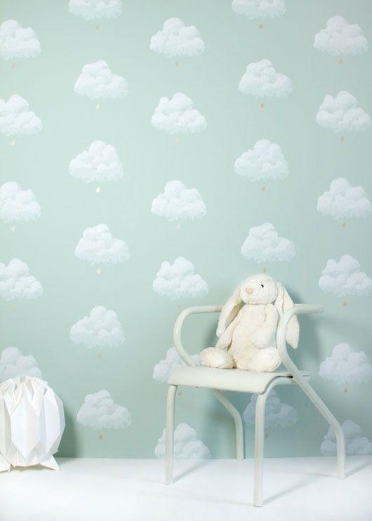Les papiers peints du printemps Kids rooms and Room
