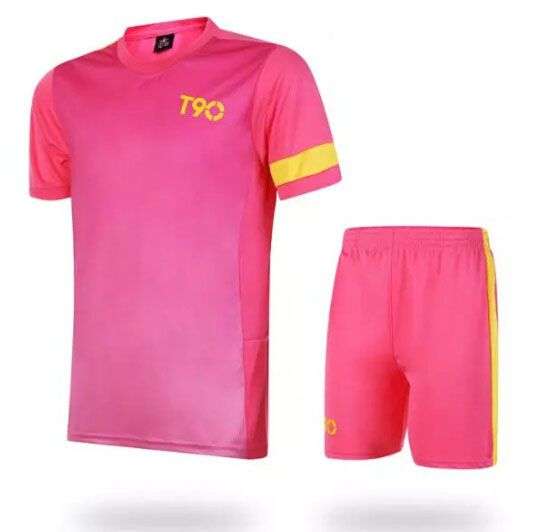 7eedd5f28 Soccer Jerseys Cheap-T90 Pink Training Blank Uniform