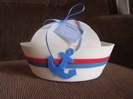 Resultado de imagem para chapeu de marinheiro como fazer em feltro