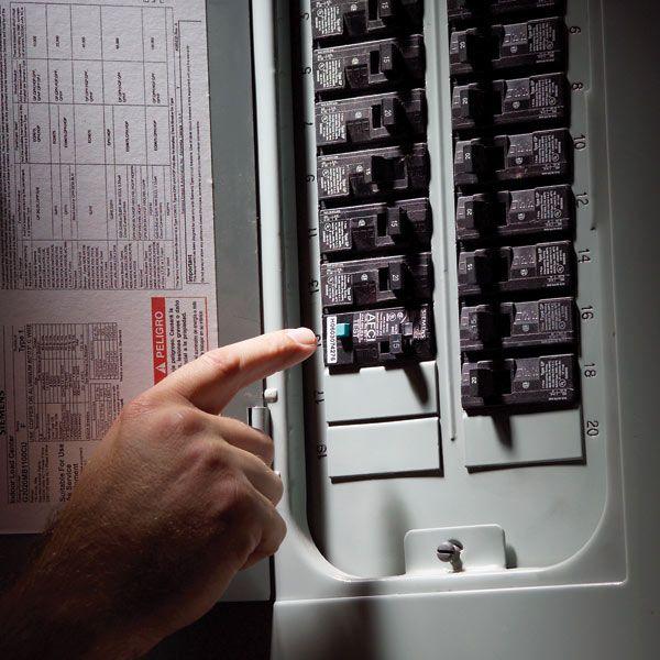 Fix A Sensitive Arc Fault Circuit Breaker