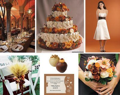 Fall Wedding Cakes Themes Ideas Fun Theme Event Thanksgiving Unique Autumn Weddings
