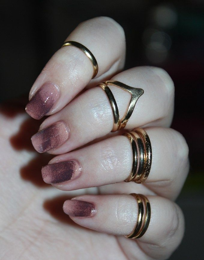 Spongy Neutral Nail Art with Zoya Cathy & Gina from the Naturel 3 ...