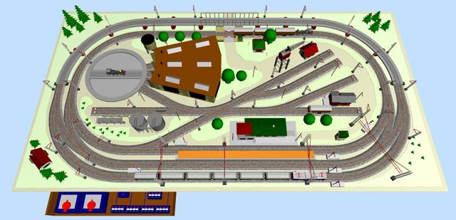 Nostalgic Marklin Ho M Track Layout Ho Scale Train Layout Model Railway Track Plans Train Layouts