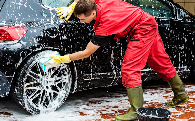 What All Do You Get With A Drive Through Car Wash Hand Car Wash Car Cleaning Services Car Wash