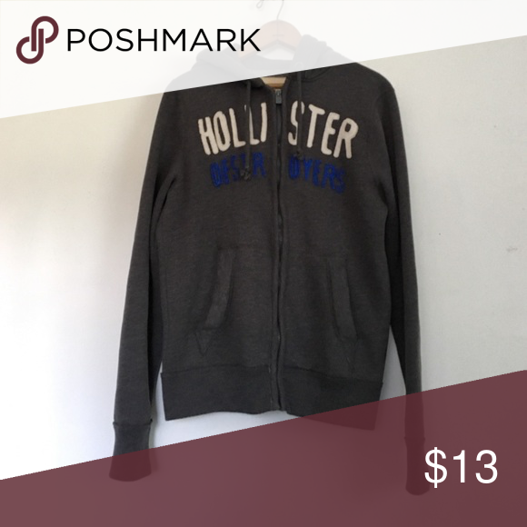 Hollister hoodies Junior boys size small Hollister zip hoodie in excellent condition Hollister Jackets & Coats