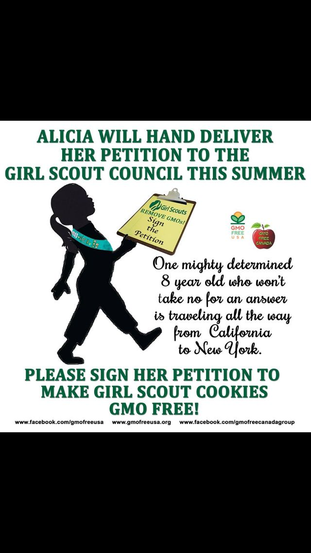 Hellz Yeah Girl Scouts Need To Cut The Gmo  Healthy Living The