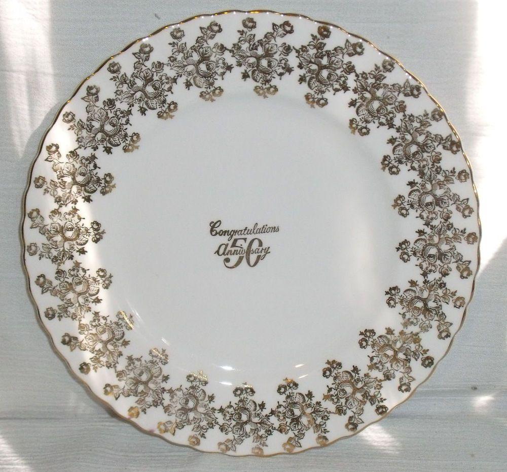 Royal Albert Plate 50Th