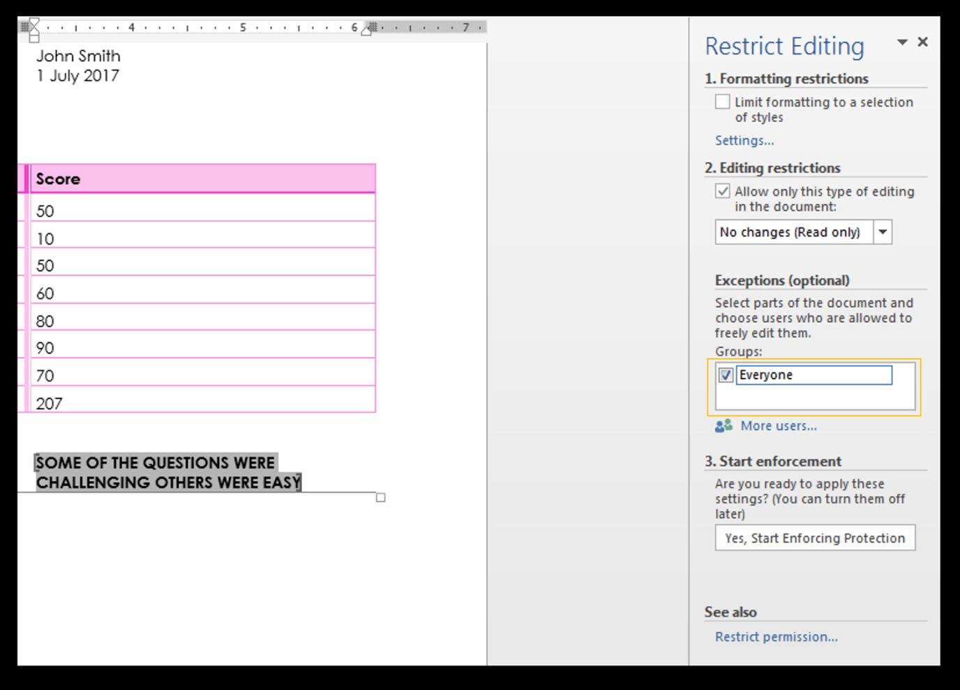 Excel Protection Explained Worksheet vs. Workbook Level