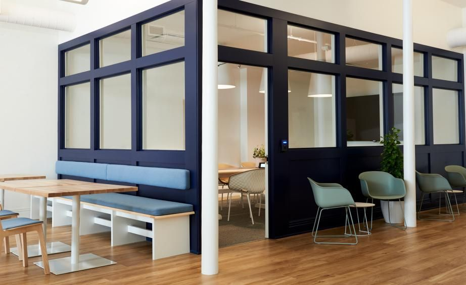 Top Office Design Trends To Drive Employee Productivity Office Interior Design Office Space Design Office Furniture Design