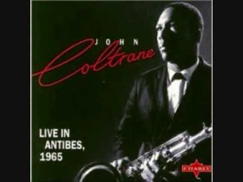 John Coltrane - Naima. Live in Antibes, 1965. Trane (ts), McCoy Tyner (p), Jimmy Garrison (b), Evin Jones (d).