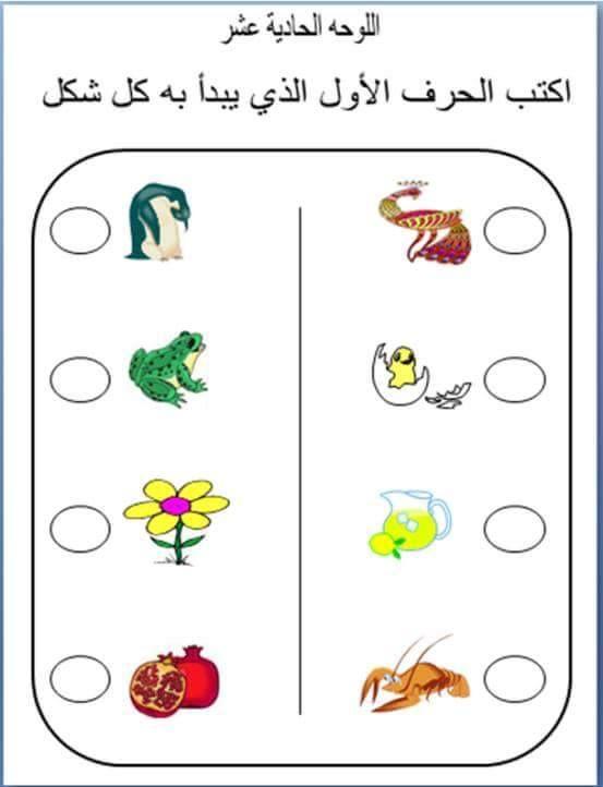 مرحلة رياض الأطفال الحضانة Kg1 Kg2 عربى لغات حساب أعداد كلمات صور تلو Alphabet Preschool Alphabet Worksheets Preschool Alphabet Kindergarten