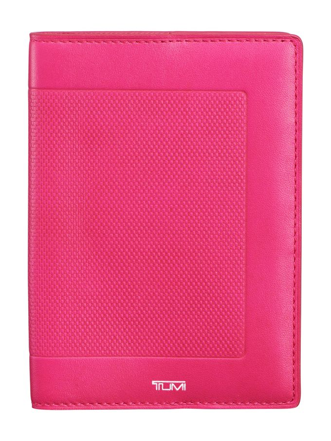 Leather Passport Cover from Tumi Luggage on Gilt