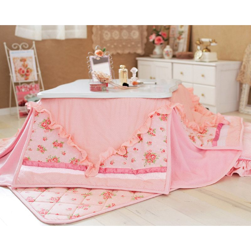 cute floral kotatsu for the home on colder days! | Creativity ...