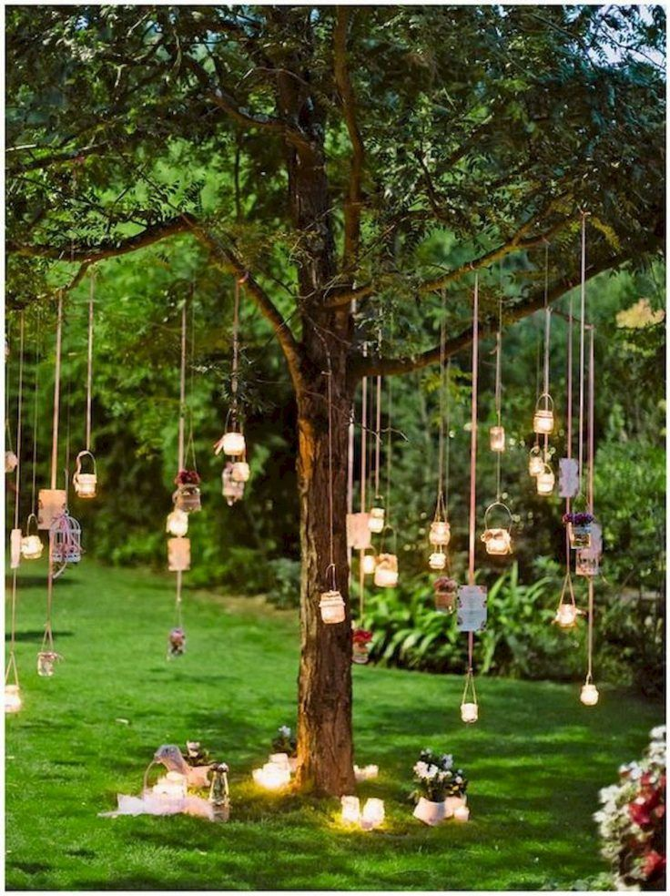 Decorative Garden party: 40 ideas to decorate your garden