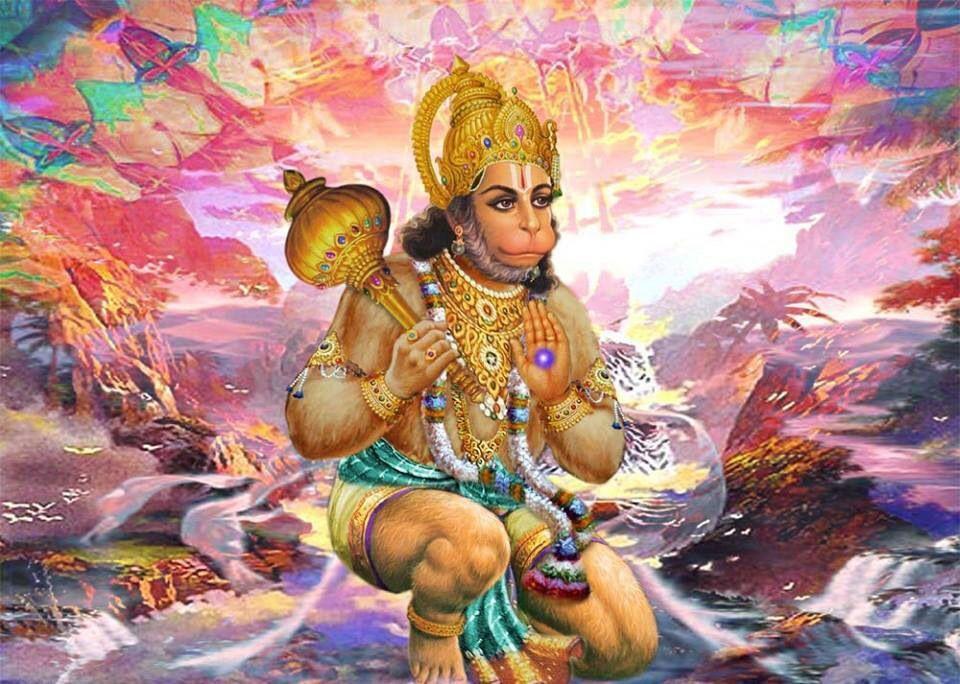 Bajrang Bali hanuman pavan putra | Lord hanuman wallpapers ...