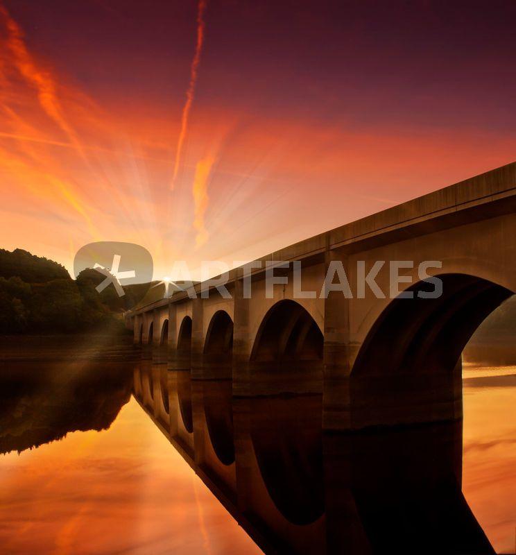 """"""" Peaceful Valley"""" Fotografie als Poster und Kunstdruck von Nigel Hatton bestellen. - ARTFLAKES.COM"""
