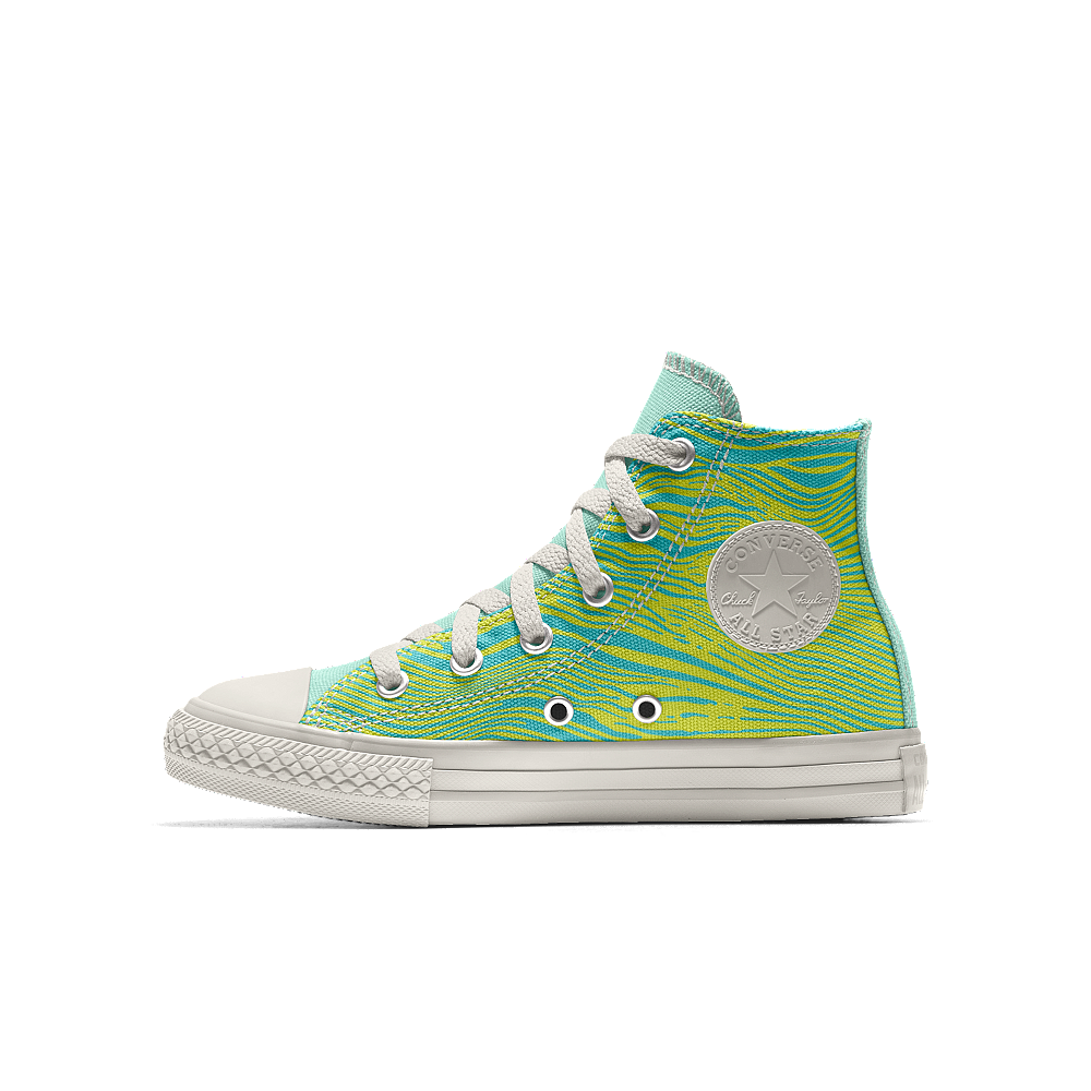40ba2723a10485 Converse Custom Chuck Taylor All Star High Top Little Kids  Shoe Size 11C ( Yellow)