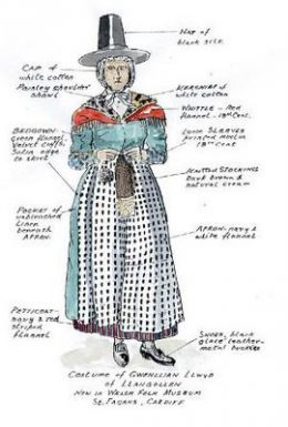 43+ Welsh traditional dress ideas