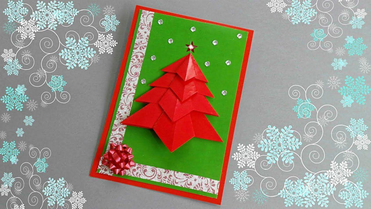 Diy Christmas Card Tutorial Christmas Crafts Diy Card