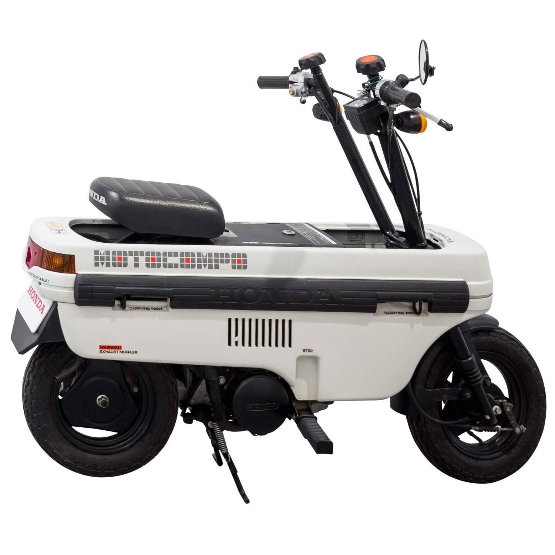 honda ncz 50 motocompo ab12 trunk bike by honda motor. Black Bedroom Furniture Sets. Home Design Ideas
