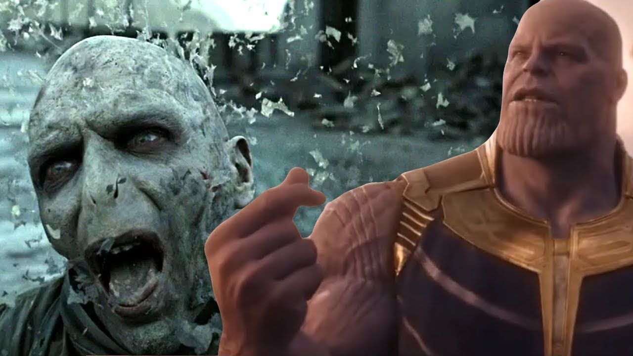 9bb172011 Thanos Snaps Fingers and Erases Everyone In Other Universes | Avengers:  Infinity War Parody - YouTube
