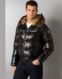 Moncler Bulgarie Classic Men Short Down Jacket Black