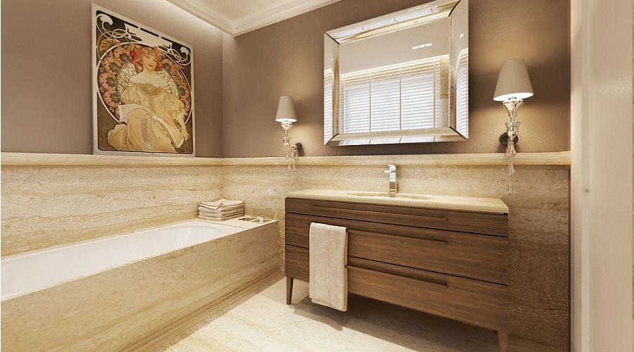 elegance in simplicity Guest bathroom remodel, Elegant