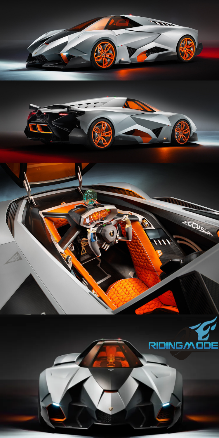Lamborghini Egoista The One And Only Ever Made Awesome