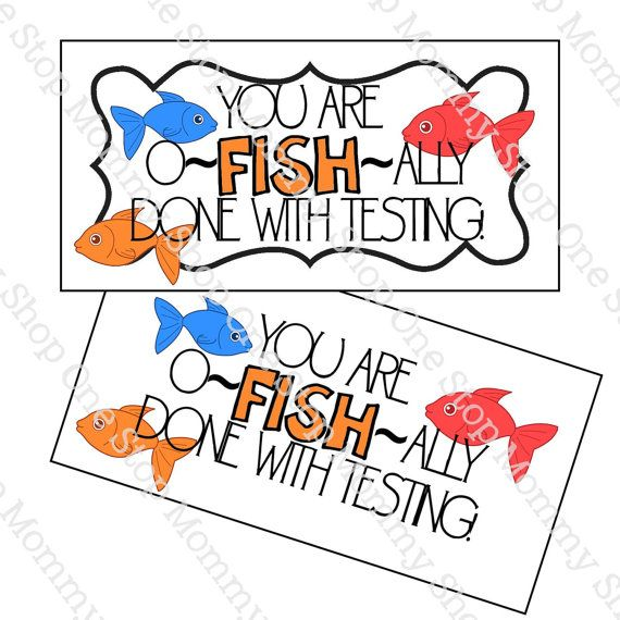 graphic regarding O Fish Ally Printable titled O-FISH-ALLY Performed with Tests printable by means of