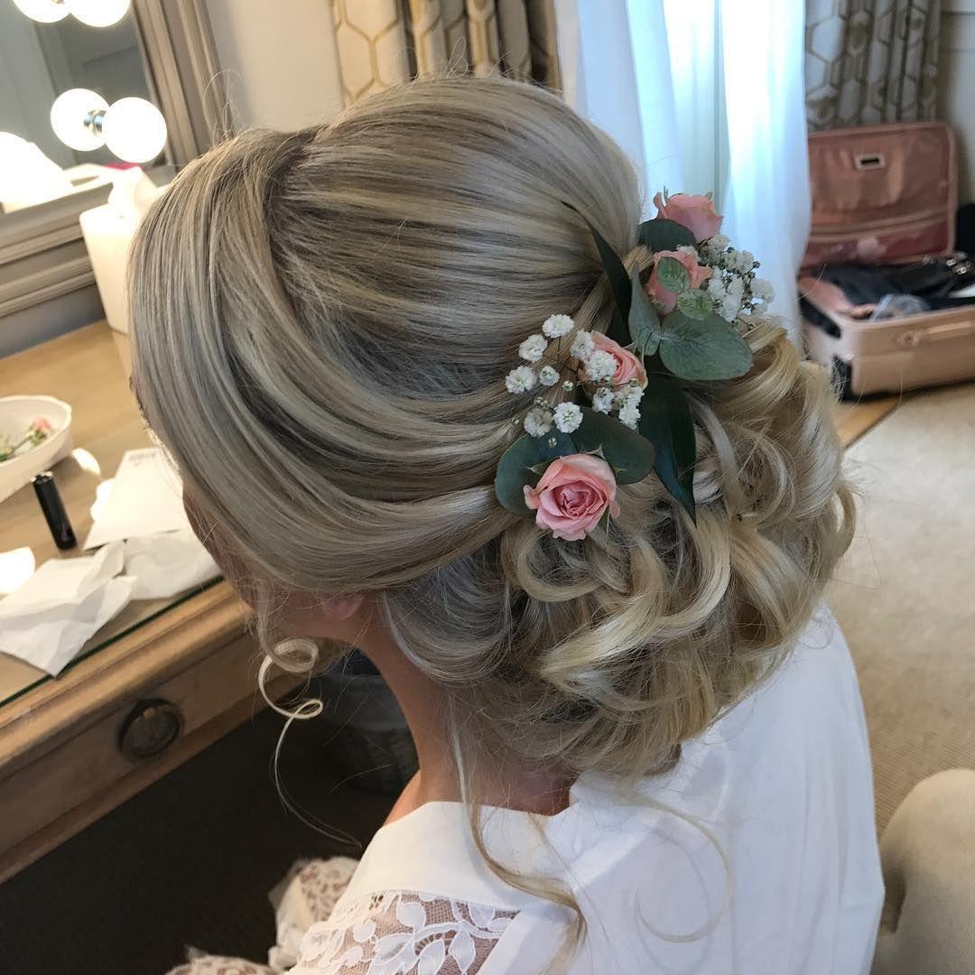 boho hair, wedding hair, bridal hair, wedding hair flowers