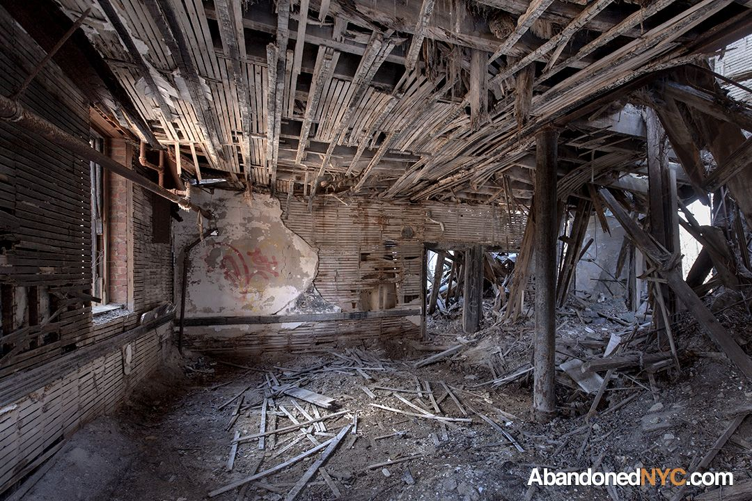 Wrecked School Room NYC