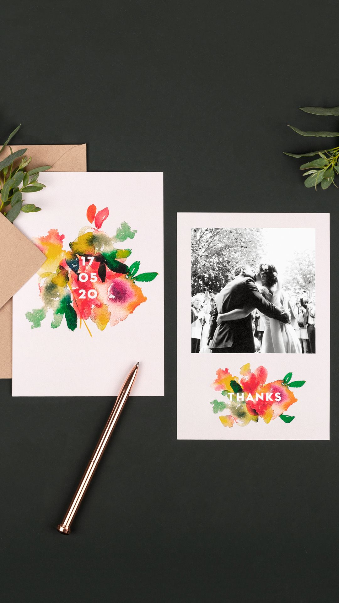 Our Bloom Wedding Invitations Are Ideal For A Summer Wedding And