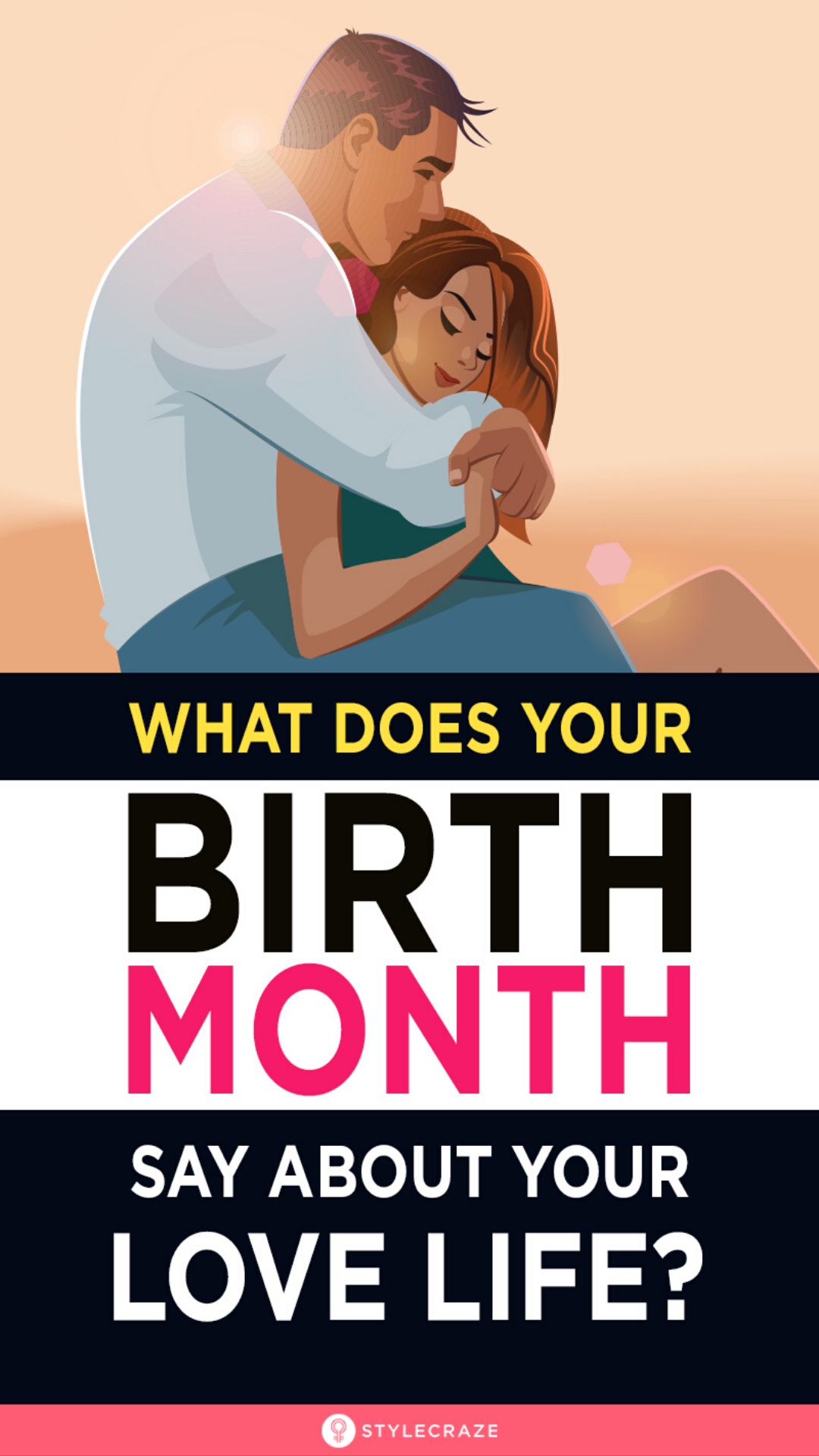 The Love Calendar Find Out What Your Birth Month Says