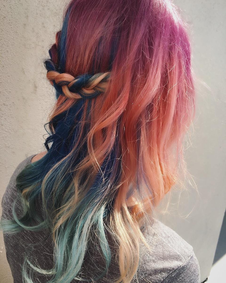 30 Magnetizing Mermaid Hair Color Ideas — Real Life ...