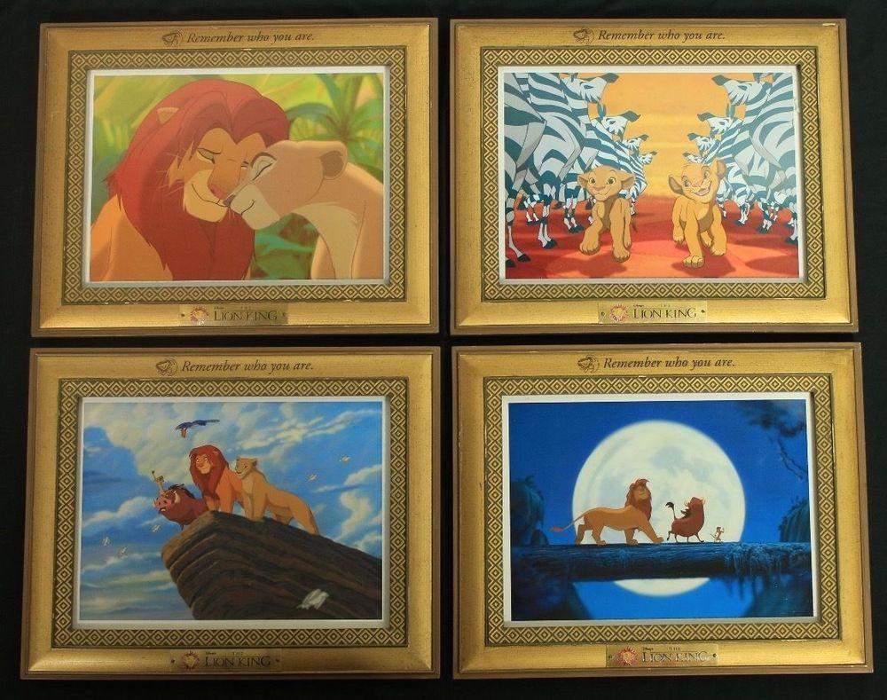 The Lion King CushionHand Printed