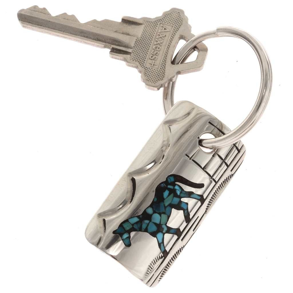 Turquoise Horse Key Ring Alltribes Motherus Day Sale