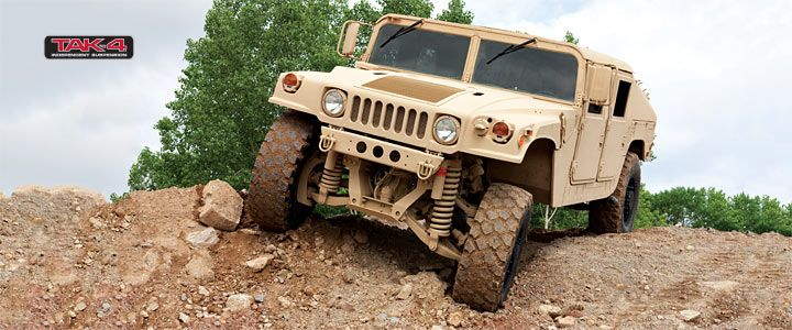 Oshkosh Hmmwv With Tak 4 174 Suspension Vehicle Off Road