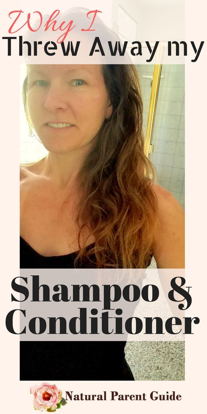 Why I Threw Away My Shampoo and Conditioner Healthy hair