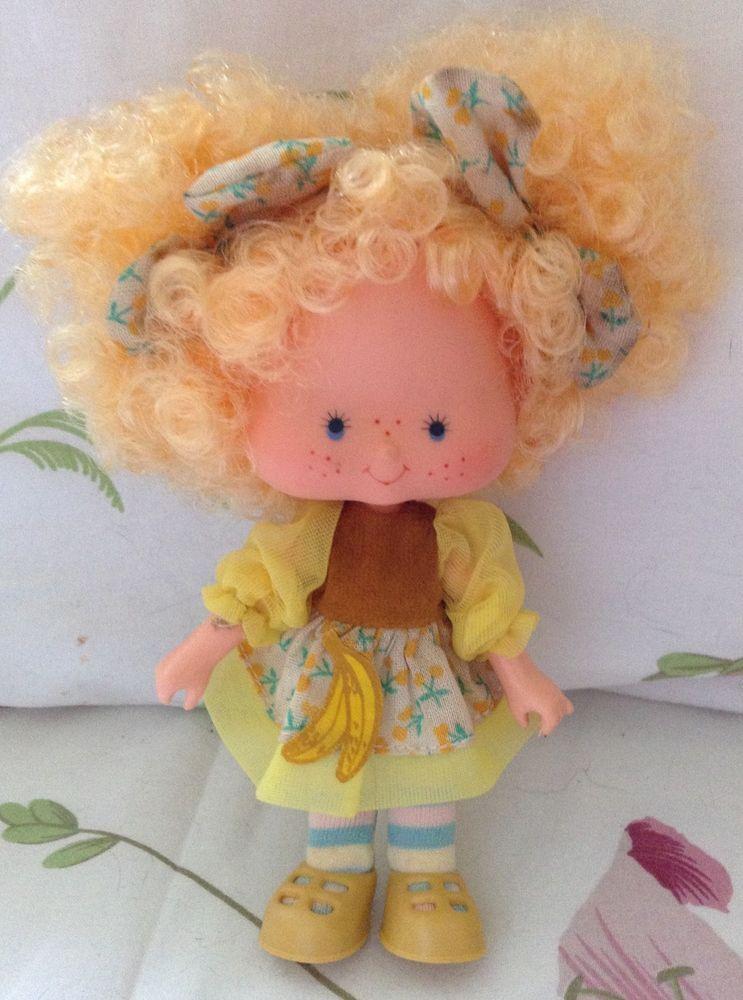 Custom Strawberry Shortcake Peach Blush Berrykin Critter Doll fairy garden