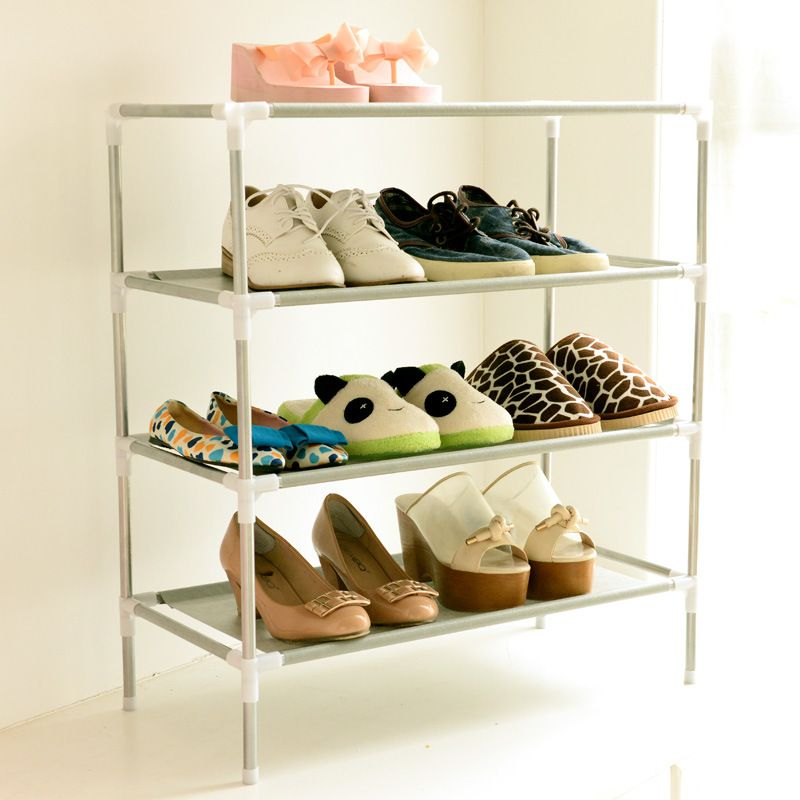 Shoe Cabinet Non Woven Shoes Racks Storage Large Capacity Home