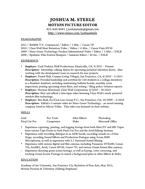 resident assistant resume sample