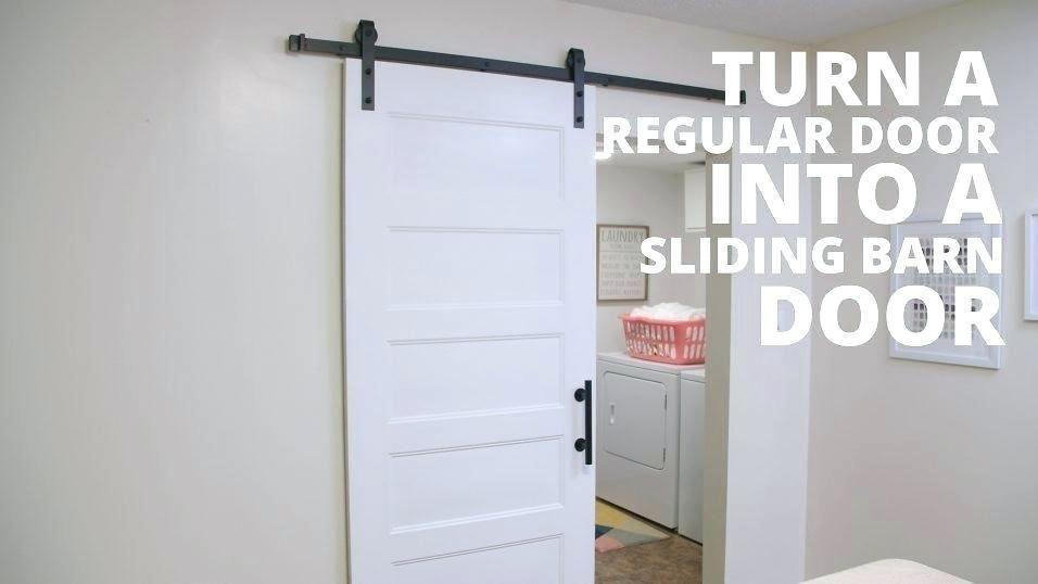 More Click Sliding Barn Door Bathroom Privacy