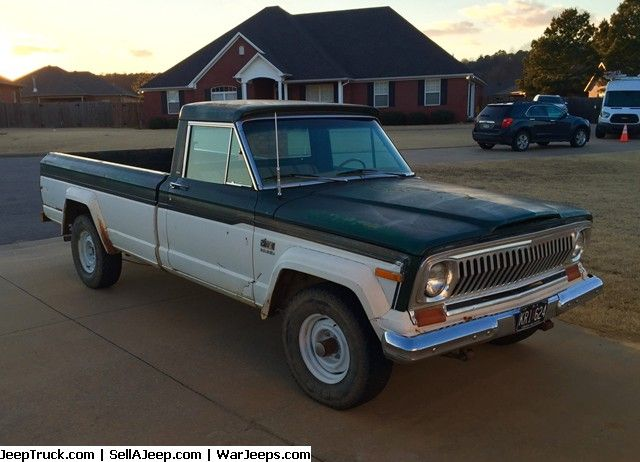 Used Jeeps And Jeep Parts For Sale 1977 J 10 Jeep Pickup Jeep