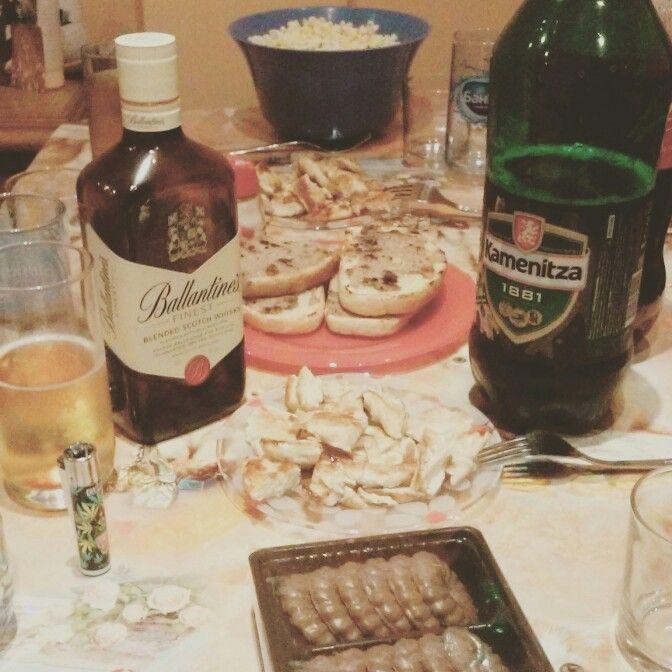 #drink #eat #night #movies