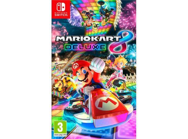 kart til og fra Mario Kart 8 Deluxe til Nintendo Switch. Alle favorittbanene og  kart til og fra