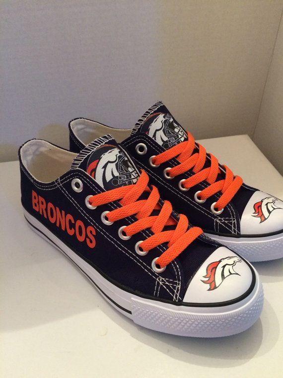 hot sale online 0bb44 1fc97 Denver broncos tennis shoes please read description before purchasing