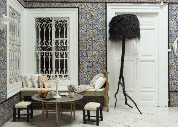 Un mélange des genres dans un palais du XVIIIe de Tunis Dan and