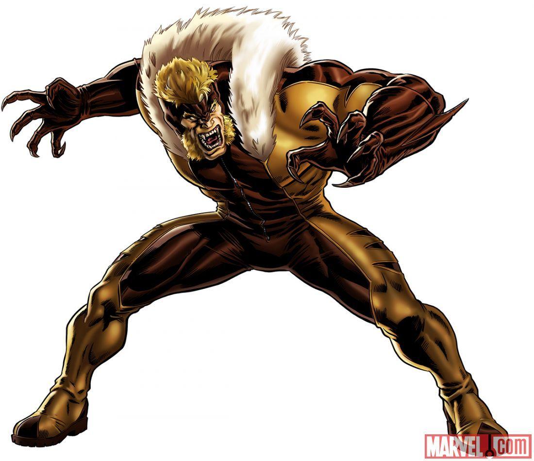 Sabretooth - Marvel Comics - Wolverine | X-Men enemy - Creed ...
