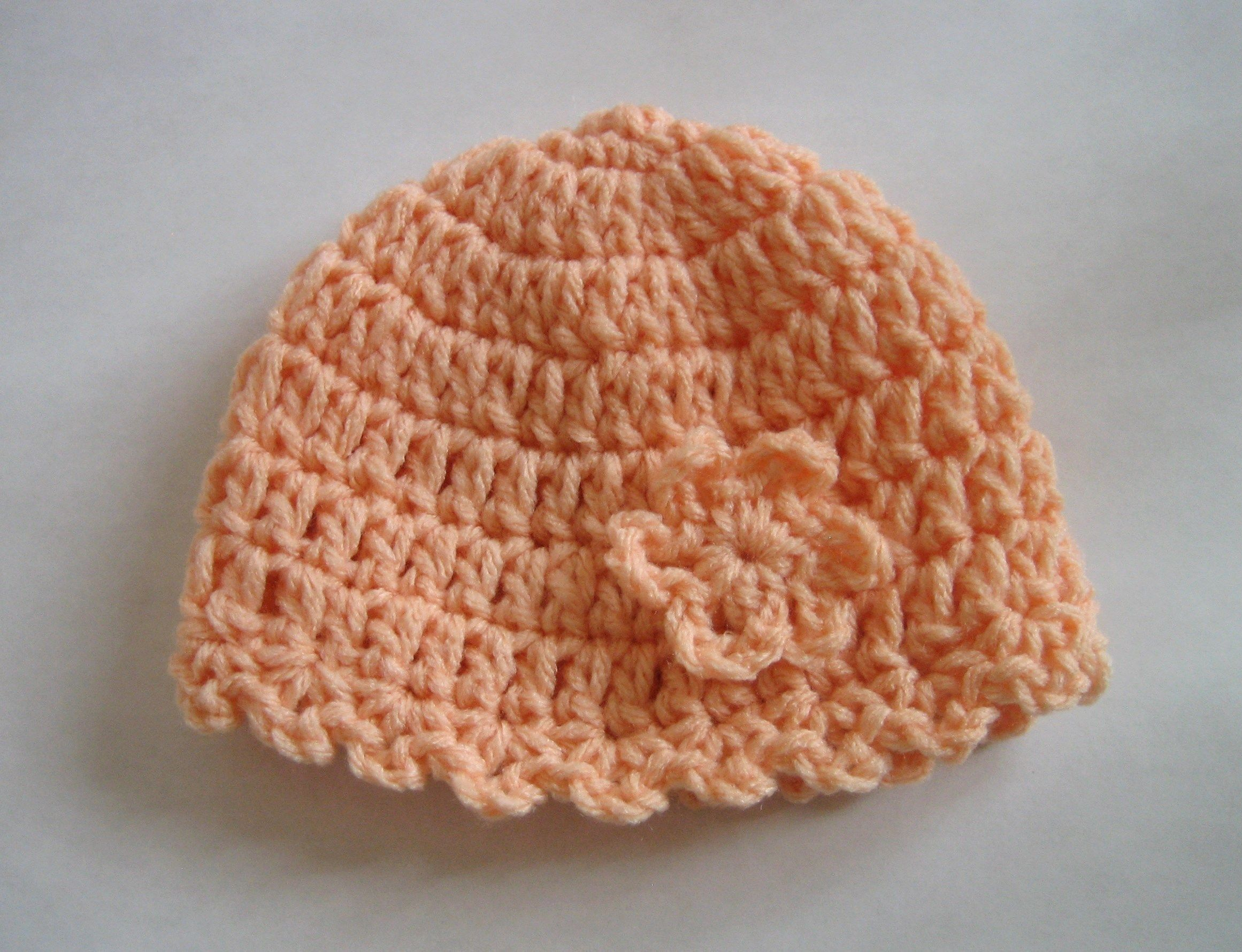 Crochet pattern of the day little flower baby hat crochet hat crochet pattern of the day little flower baby hat bankloansurffo Image collections