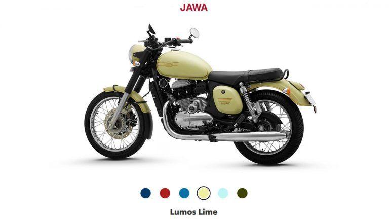 Jawa And Jawa 42 Blue Red Color